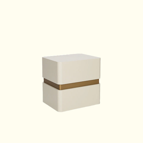 GOLD BAND BEDSIDE TABLE [NO25BT10]